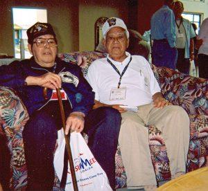 Amos Almeida with Tony Lujan